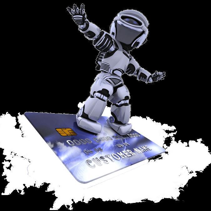 Robot buscando diseño web agencia seo #1 en andorra y españa